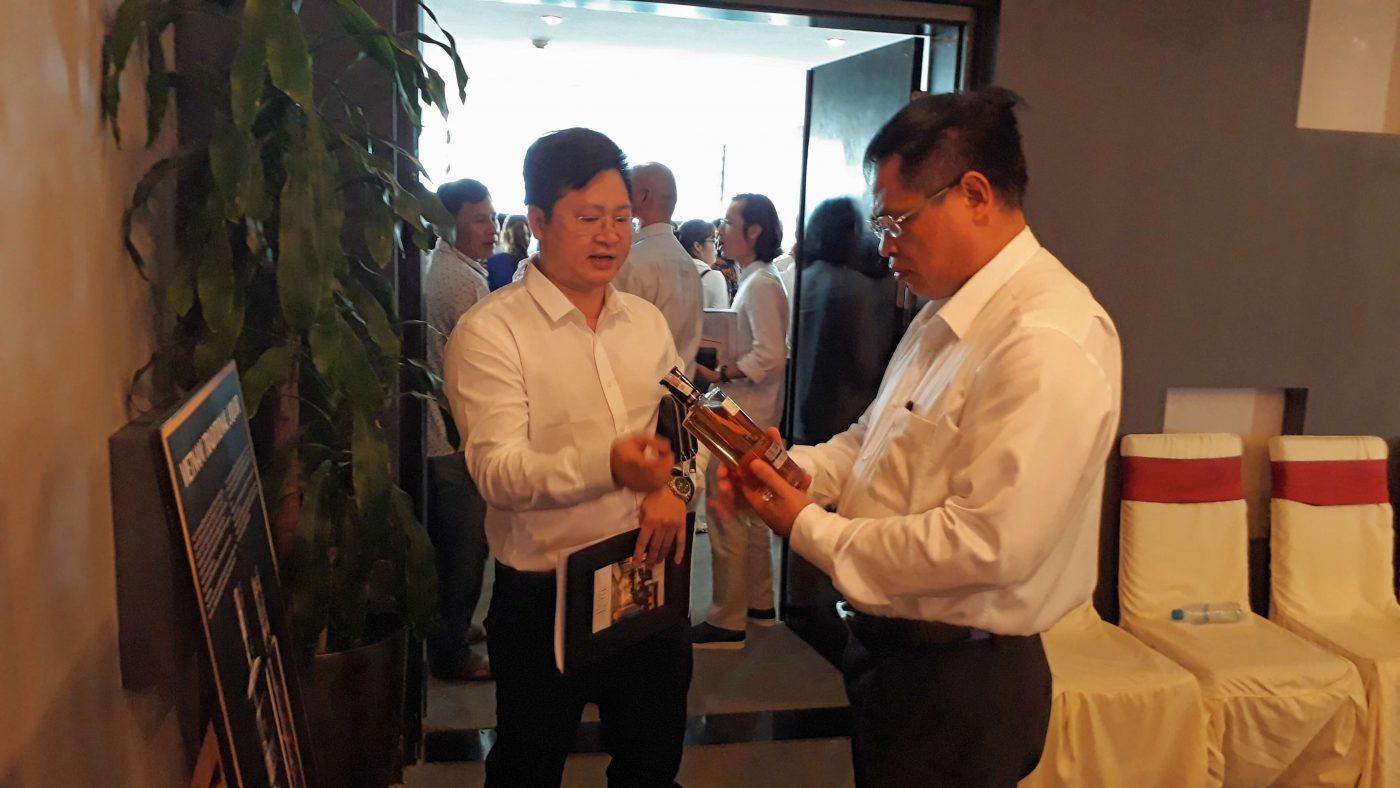 Ông Phạm Ngọc Thủy - Giám đốc Sở Du Lịch định hướng đưa Rượu Mơ Yên Tử tiếp cận khách du lịch quốc tế đến Quảng Ninh.
