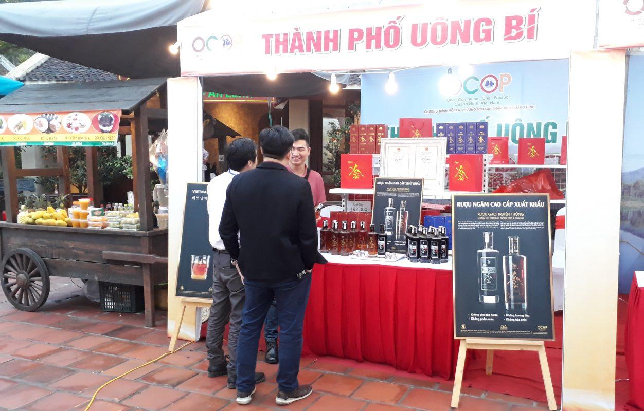 Rượu mơ Yên Tử và rượu ba kích Yên Tử đại diện cho sản phẩm OCOP thành phố Uông Bí