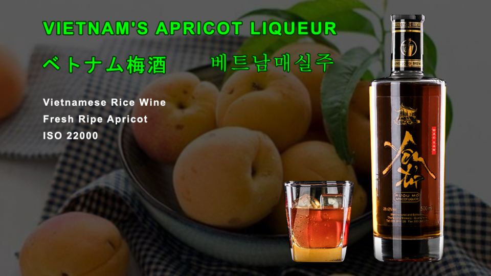 vietnamese apricot liqueur