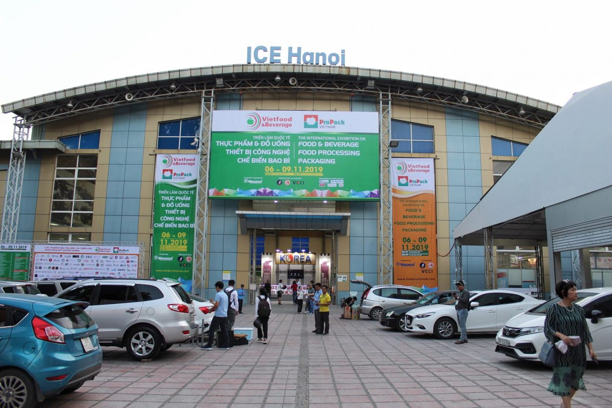 Rượu mơ tham gia triển lãm quốc tế Vietfood & Beverage 2019 tại ICE Hanoi