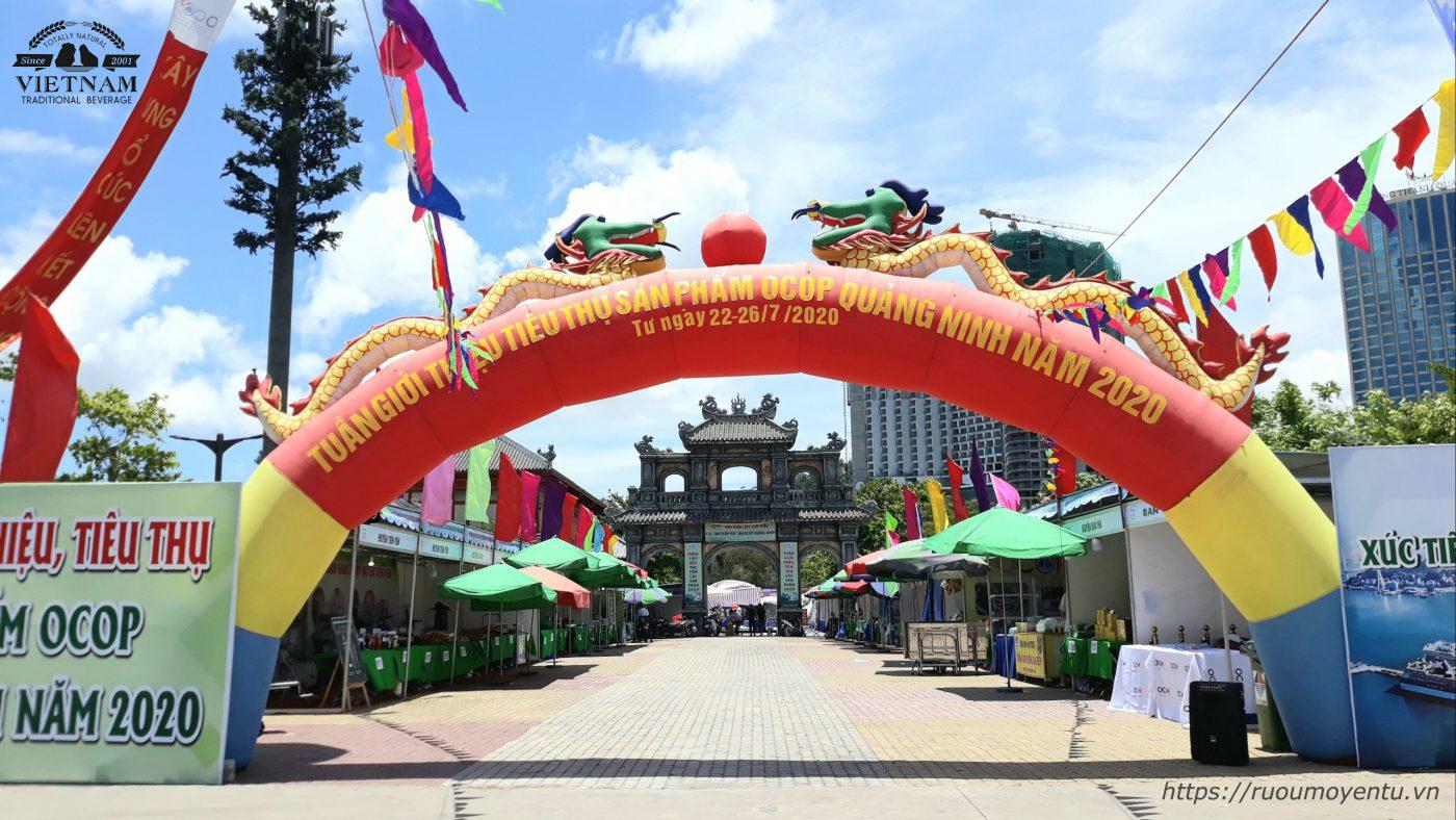 Liên hoan ẩm thực Quảng Ninh 2020 tổ chức tại Công viên Sun World Hạ Long Park