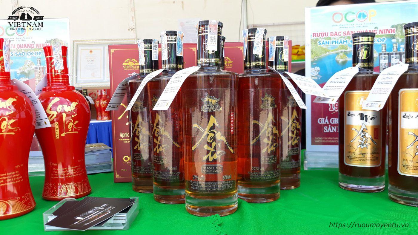 Rượu mơ Yên Tử - rượu đặc sản 5 sao OCOP - Đặc sản tiêu biểu của tỉnh Quảng Ninh