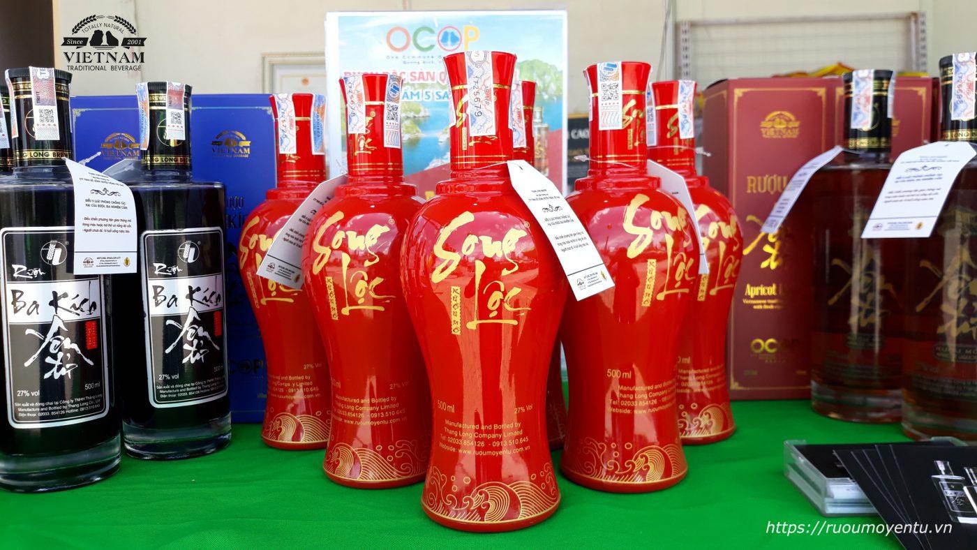 Rượu mơ Song Lộc tại Sự kiện