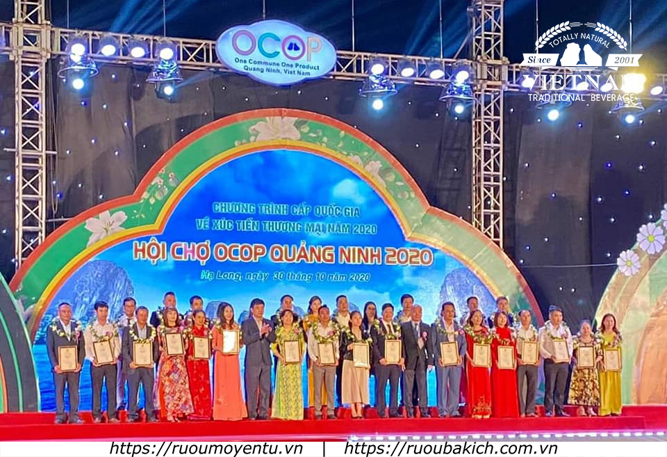 Rượu Yên Tử tham gia hội chợ OCOP Quảng Ninh 2020
