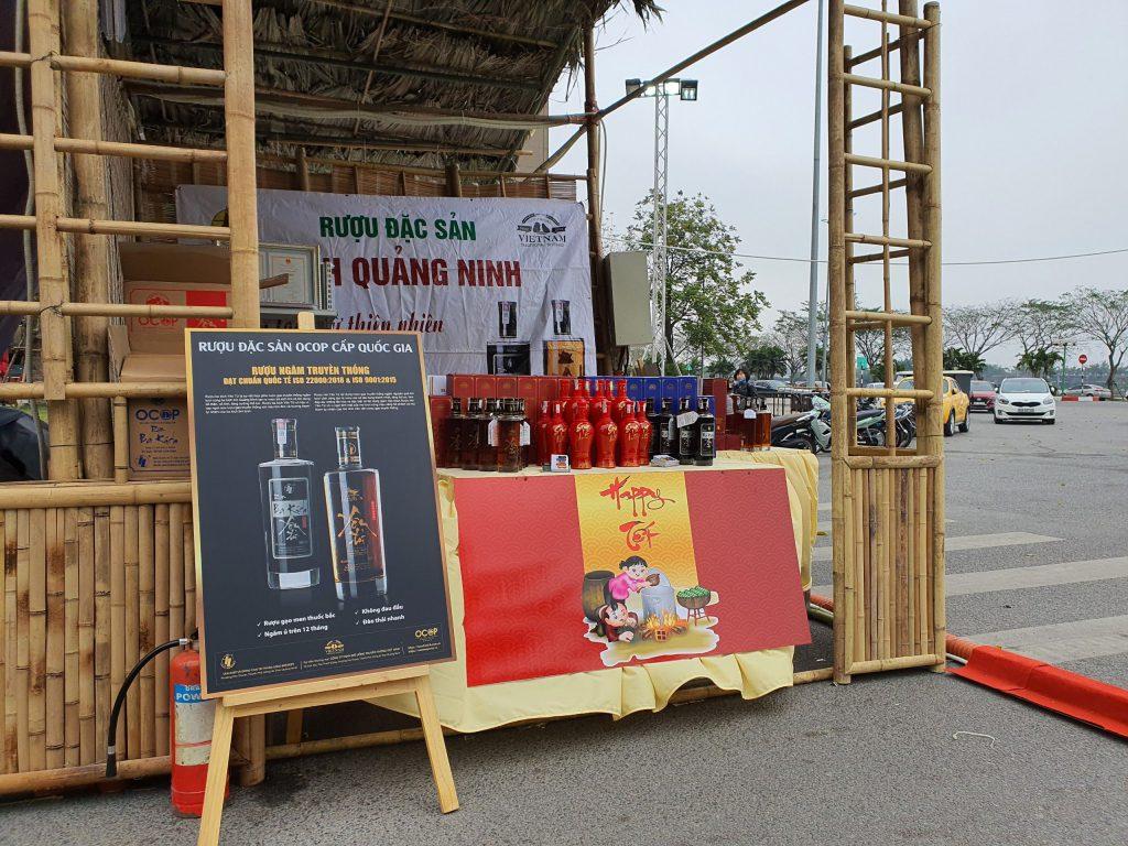 Rượu mơ Yên Tử tham dự Hội chợ đặc sản vùng miền Việt Nam – Happy Tết 2021