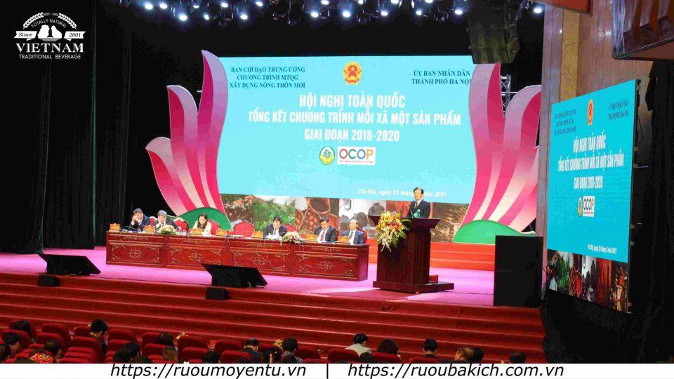 Hội nghị toàn quốc Tổng kết chương trình OCOP Quốc Gia