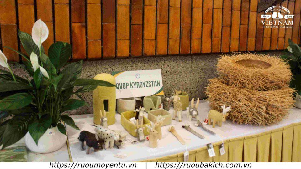 Sản phẩm OVOP Kyrgyzstan