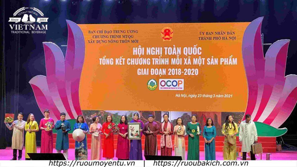 Trao thưởng cá nhân xuất sắc tại hội nghị OCOP Quốc Gia