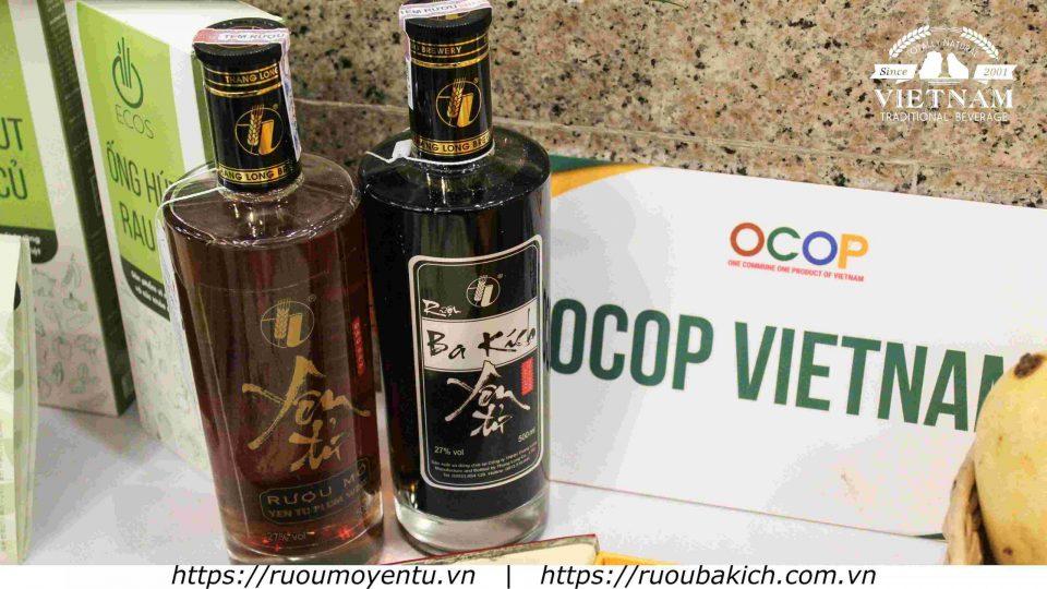 Rượu mơ Yên Tử và rượu ba kích Yên Tử - Sản phẩm 5 sao OCOP - Sản phẩm đi đầu trong Chương trình OCOP Quốc Gia